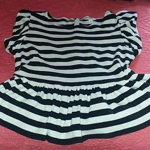 Peplum blouse